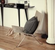 The-Line-The Apartment-Fritz-Hansen-PK22-Lounge-Chair-via-Remodelista