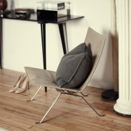 The-Line-The Apartment-Fritz-Hansen-PK22-Lounge-Chair-via-Remodelista