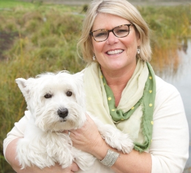 Susie and Duffy the Real Estate Dog
